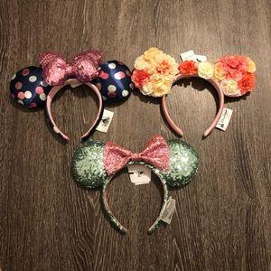 3 Minnie ears
